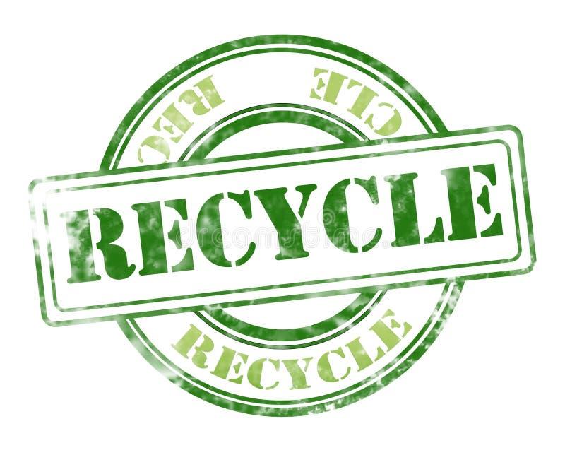 回收难看的东西不加考虑表赞同的人 库存例证
