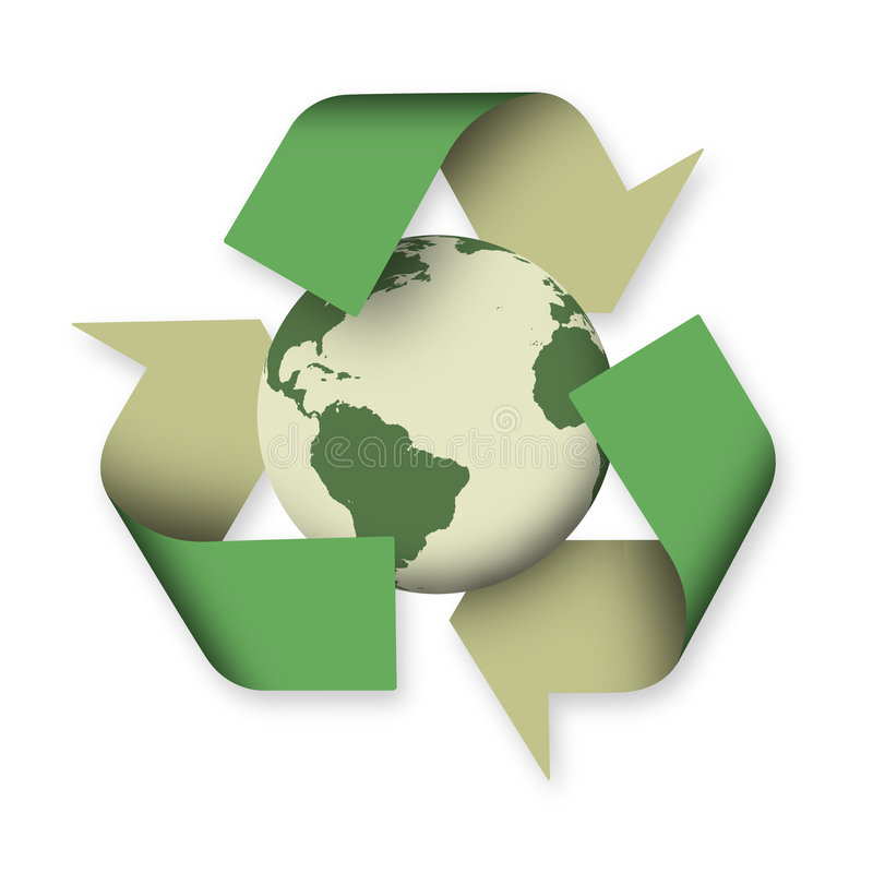 回收 库存例证