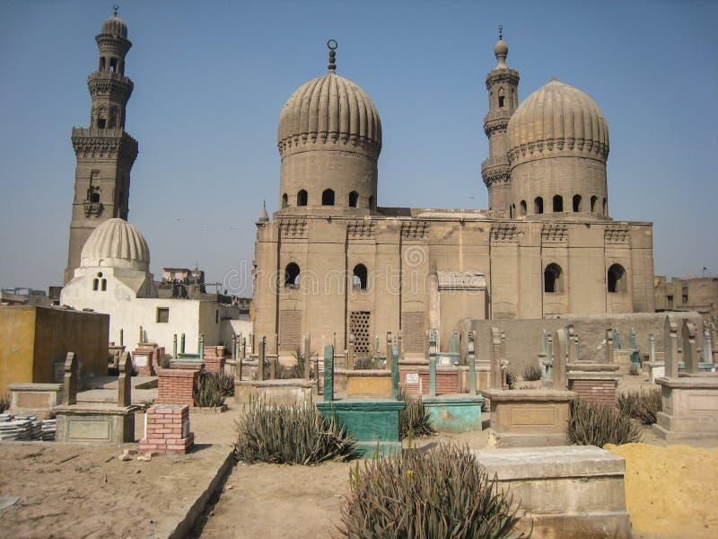 回教国的国王的坟茔。 开罗。 埃及 图库摄影