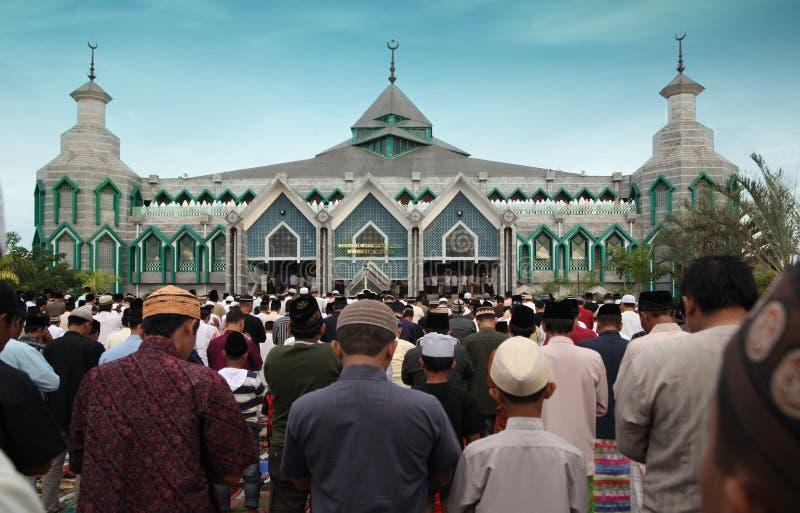回教祷告 免版税图库摄影