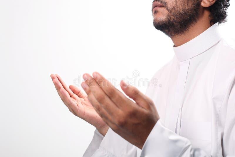 回教祷告 库存照片