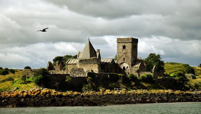 因奇科姆岛修道院 免版税库存照片