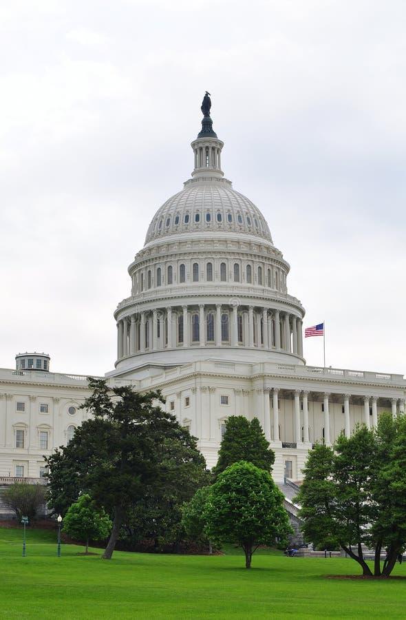 团结的国会大厦状态 免版税库存照片