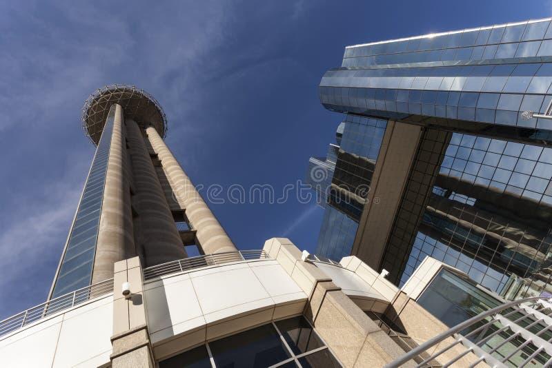 团聚塔在达拉斯, Tx,美国 免版税库存照片