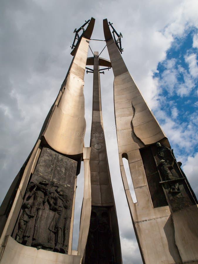 团结的纪念碑 图库摄影