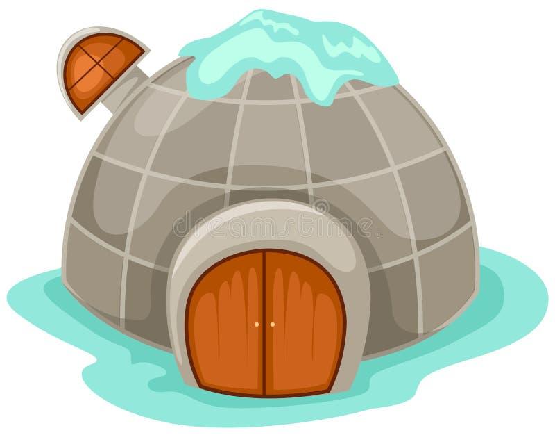 园屋顶的小屋 皇族释放例证