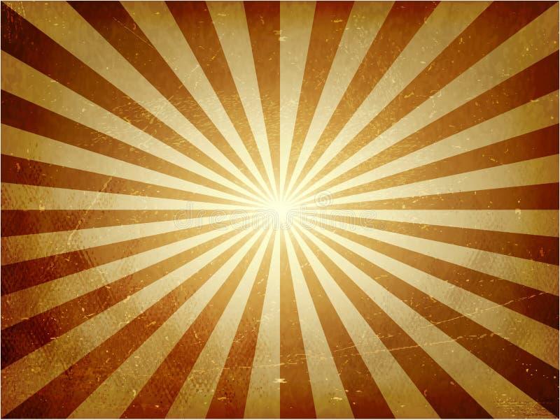 困厄的光爆炸向量背景 向量例证