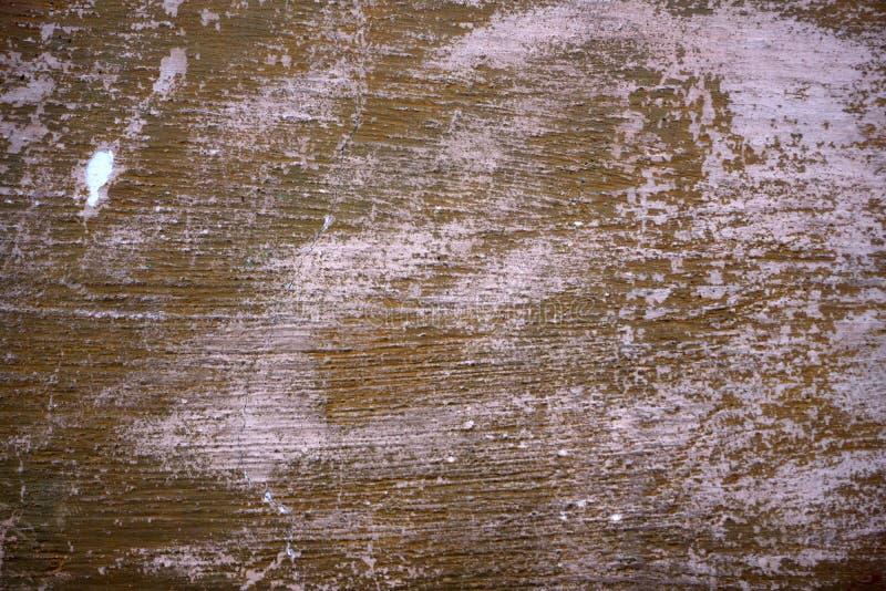 困厄的棕色桃红色墙壁1 库存图片