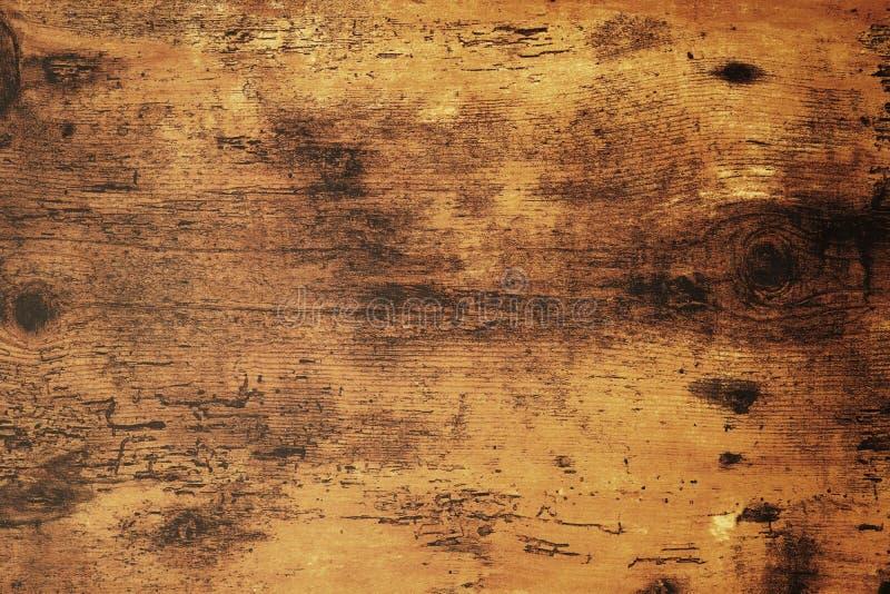 困厄的破旧的别致的木背景纹理 免版税图库摄影
