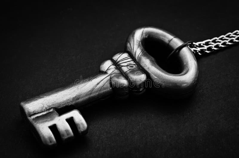 困厄的葡萄酒钥匙 图库摄影