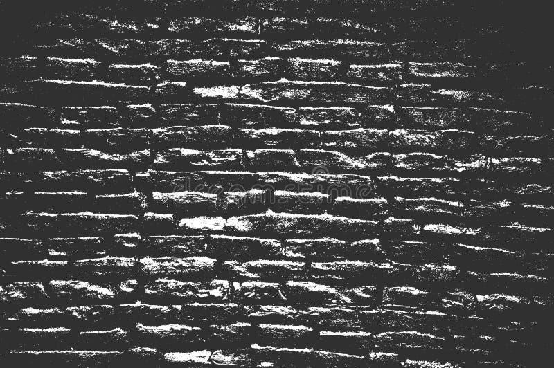 困厄老砖墙纹理 库存照片
