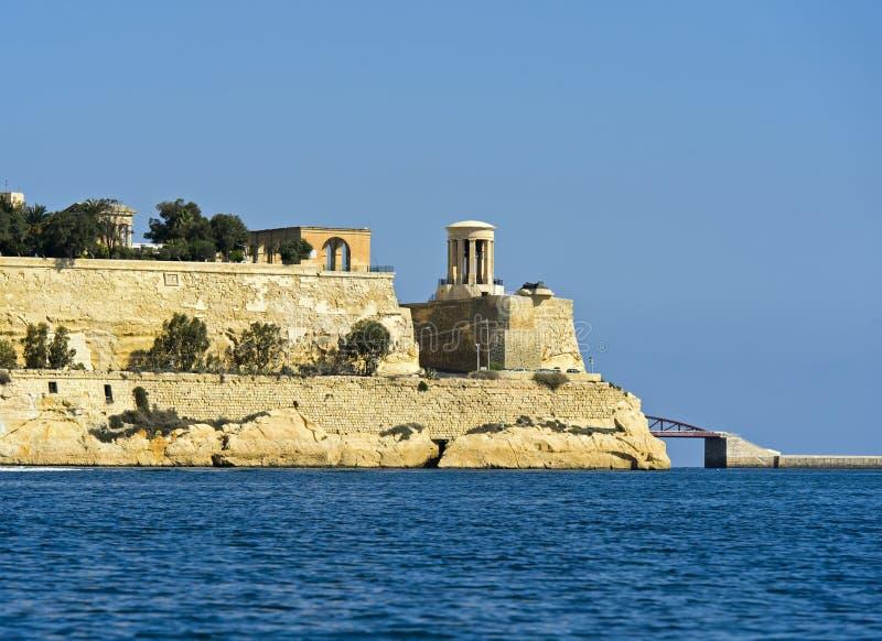 围困响铃纪念品,瓦莱塔,马耳他 库存照片