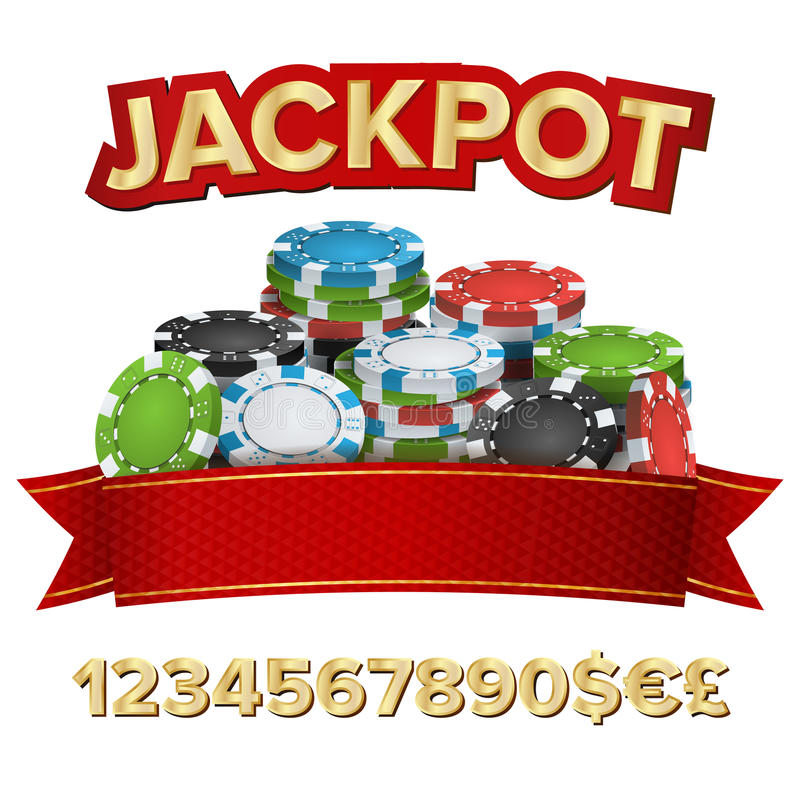 困境优胜者背景传染媒介 赌博的纸牌筹码例证 对网上赌博娱乐场,打牌,啤牌,轮盘赌 皇族释放例证