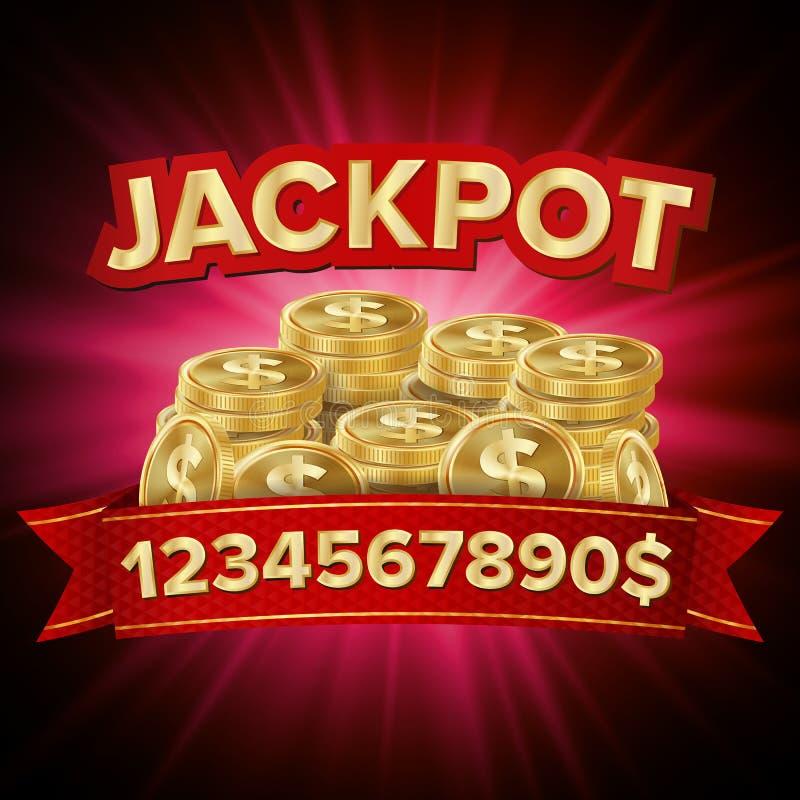 困境传染媒介 运气的赌博娱乐场背景,金钱,困境,戏剧,抽奖例证 库存例证