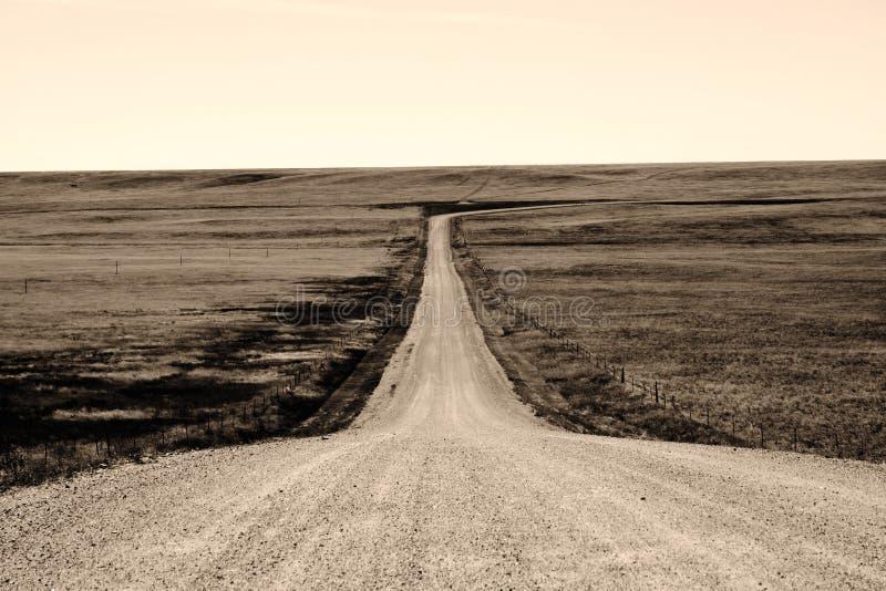 困难漫长的路 免版税库存图片