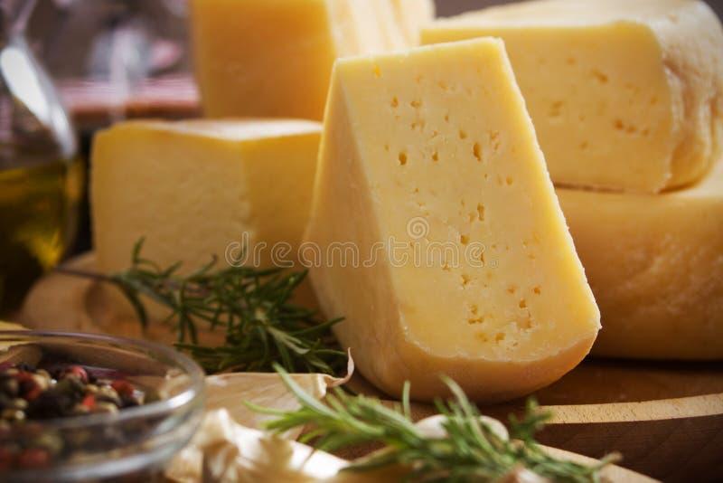 困难的干酪 免版税图库摄影