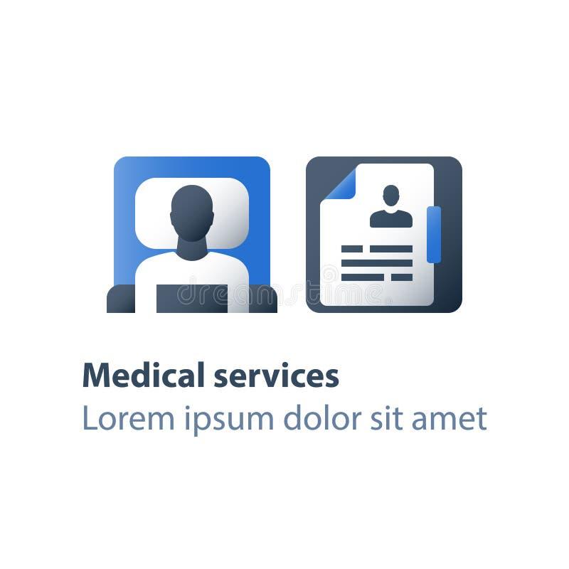 固定式疗法、轻便小床在病区里,医院病床、医疗护理、住院治疗和治疗,手术室 库存例证