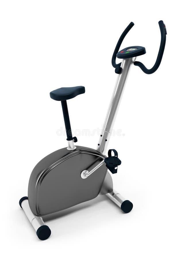 固定式的自行车 皇族释放例证
