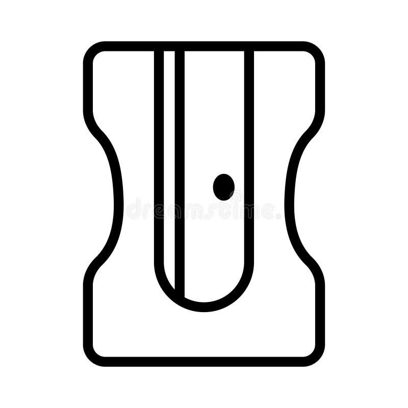 固定式稀薄的线传染媒介象 向量例证