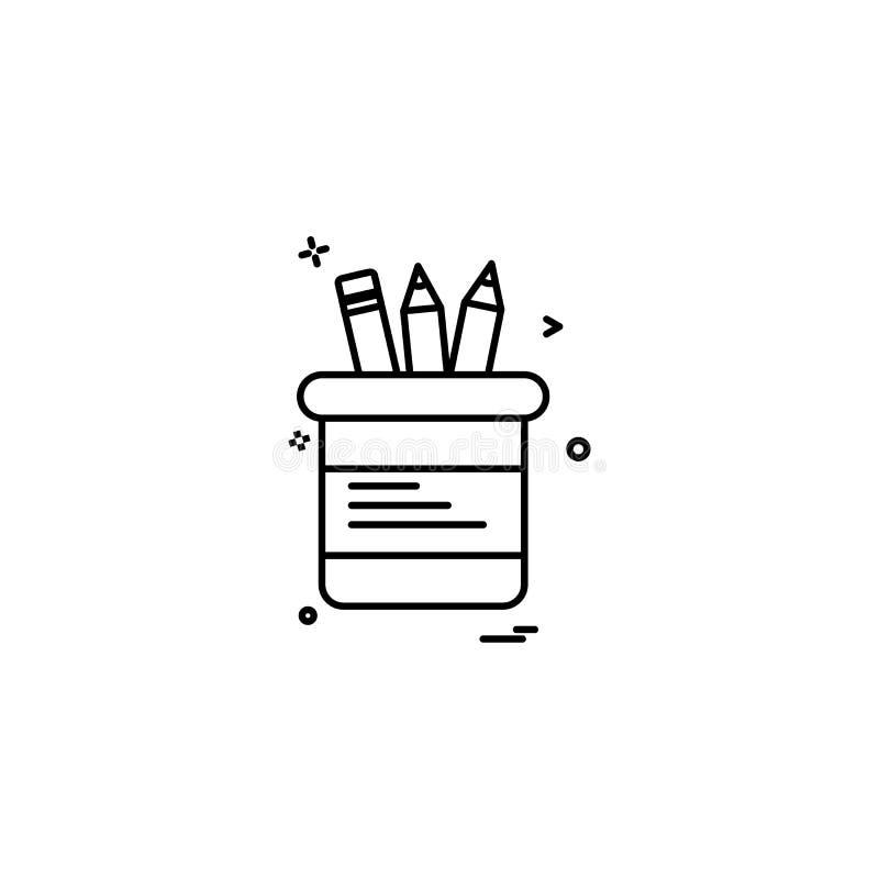 固定式象设计传染媒介 库存例证