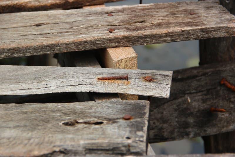 固定木头 免版税图库摄影