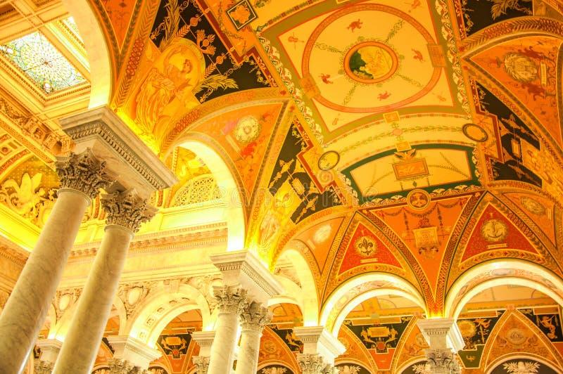 国会图书馆,美国 库存图片