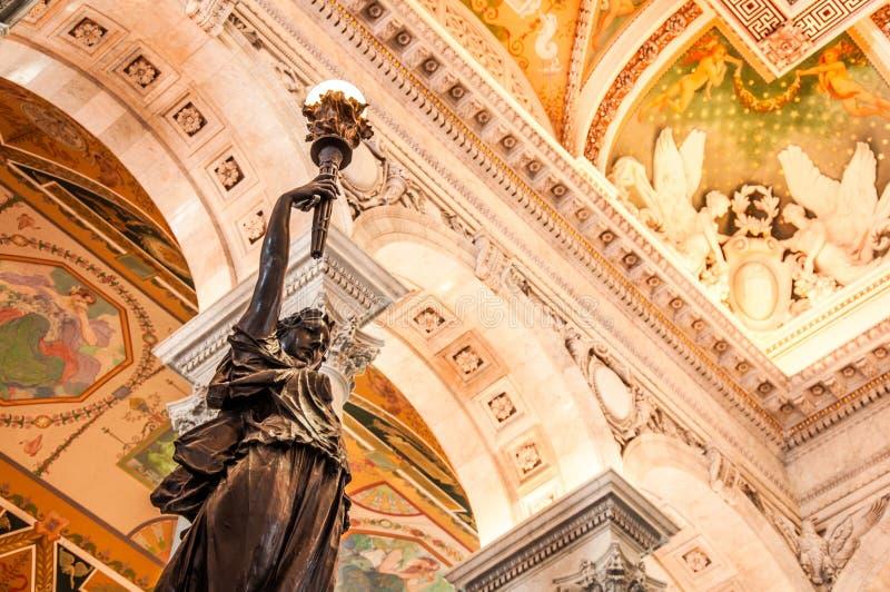 国会图书馆,美国 免版税库存照片