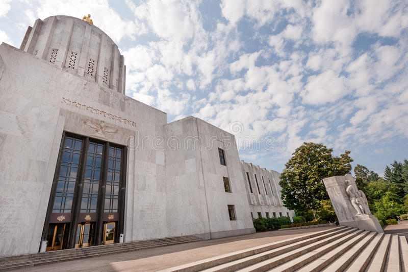 国会大厦俄勒冈状态 免版税库存照片