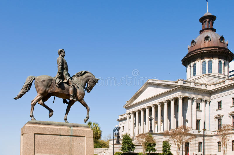 国会大厦卡罗来纳州南状态 免版税库存照片