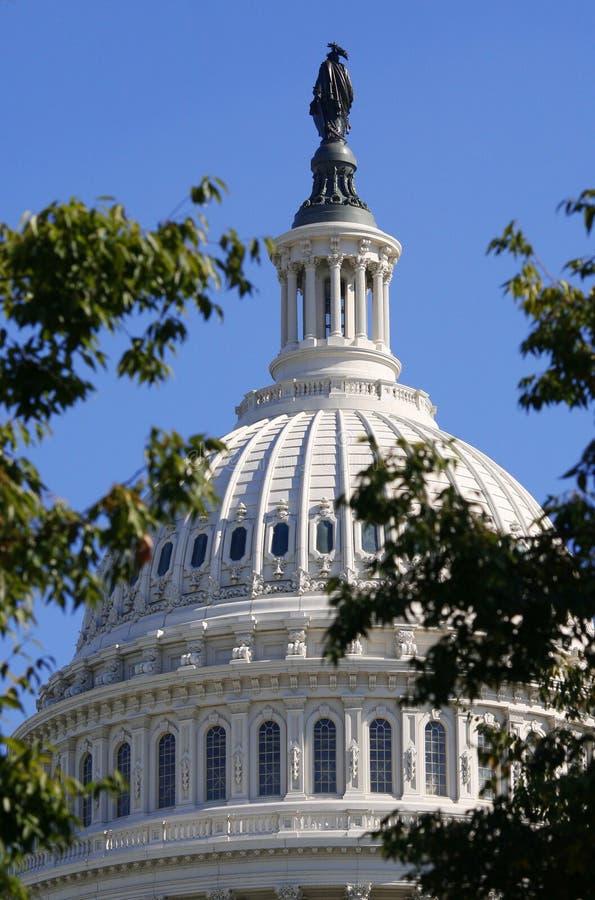 国会大厦国会圆顶小山 库存图片