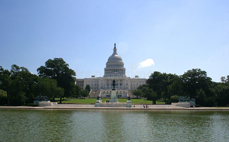国会大厦国民 免版税图库摄影