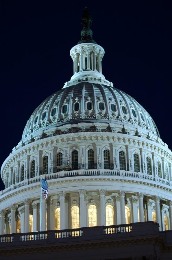 国会大厦圆顶详细资料 免版税图库摄影
