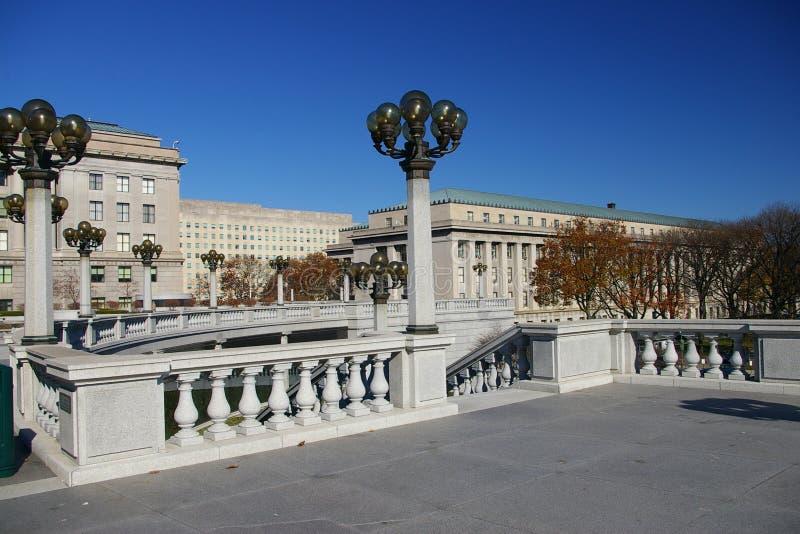国会大厦复杂 库存照片