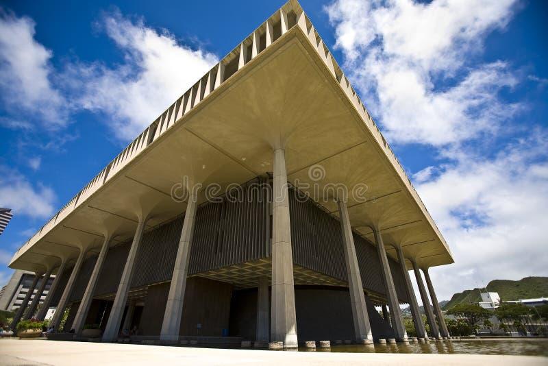 国会大厦夏威夷状态 免版税库存图片