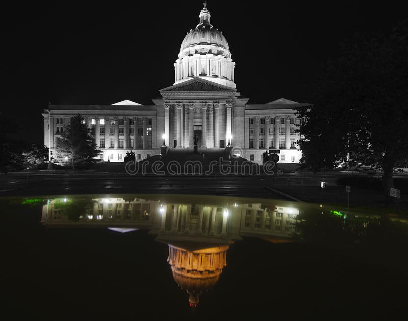 国会大厦密苏里状态 免版税库存图片