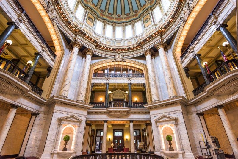 国会大厦密西西比状态 免版税图库摄影