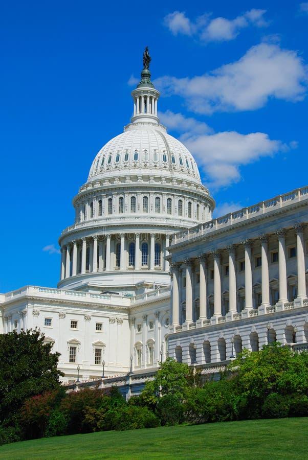 国会大厦我们 免版税库存照片