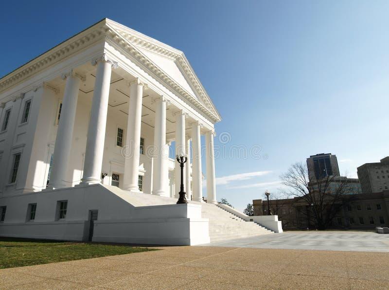 国会大厦状态州议会议场弗吉尼亚 库存照片