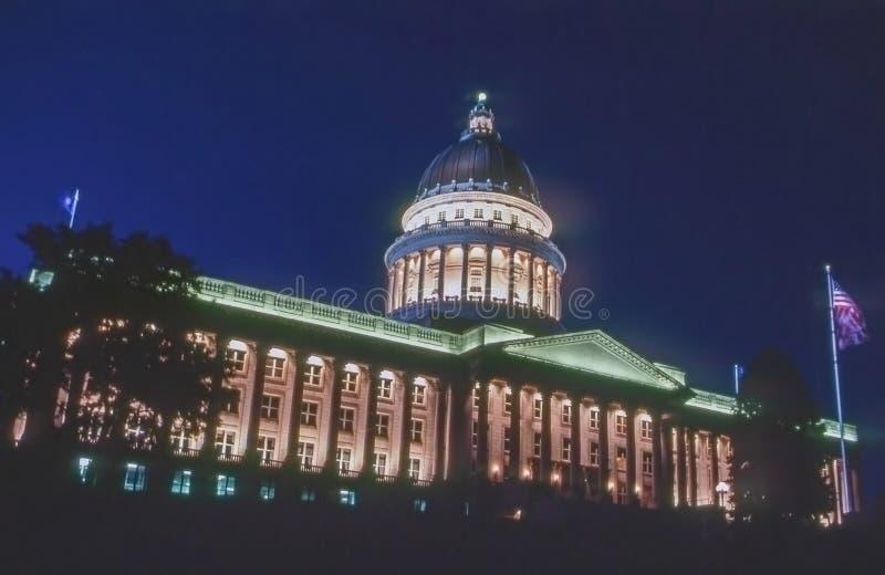 国会大厦状态犹他 免版税库存照片