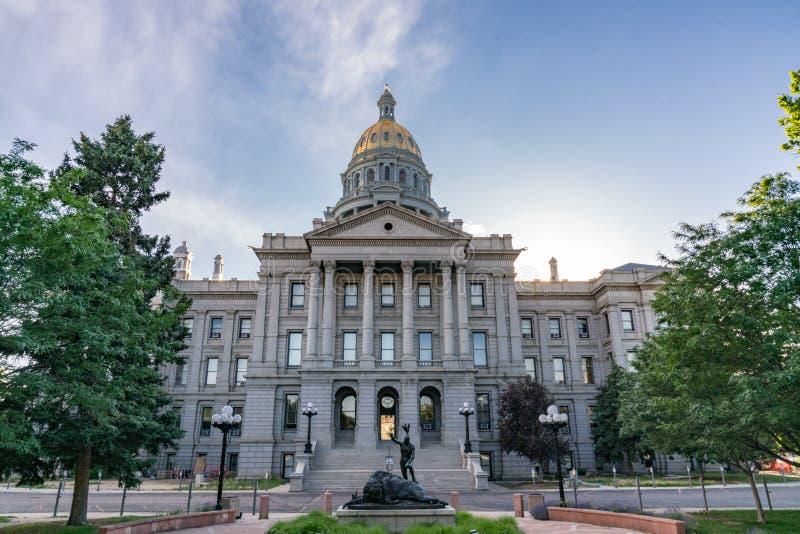 国会大厦科罗拉多状态 免版税库存照片