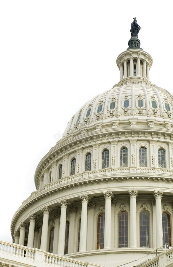 国会大厦覆以圆顶我们 免版税库存图片