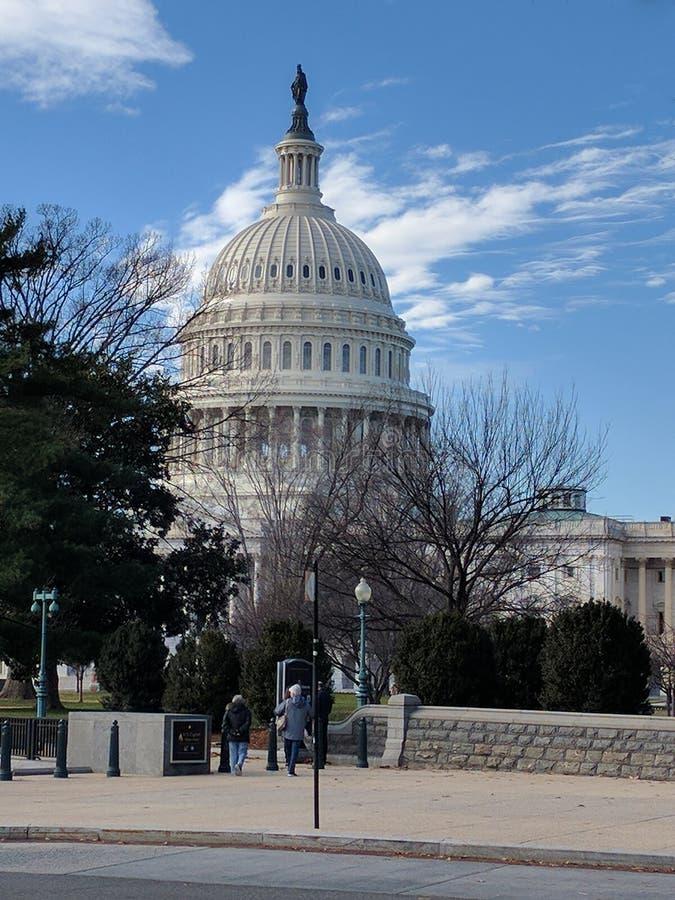 国会大厦,华盛顿 DC 库存照片