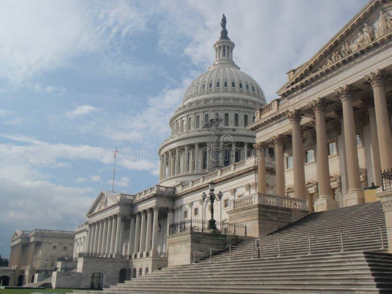 国会大厦dc小山华盛顿 免版税库存照片