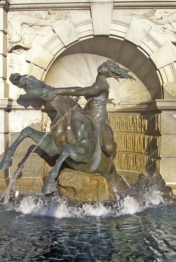 国会dc图书馆华盛顿 库存图片