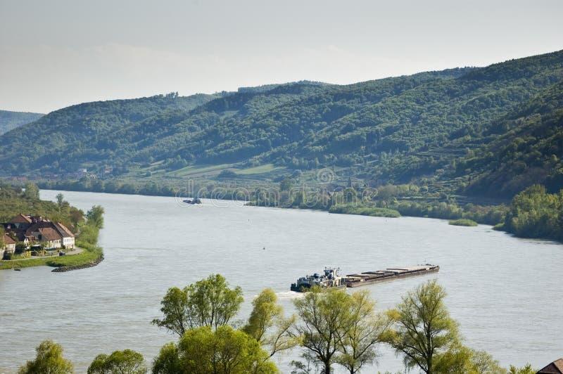 国内运输水 免版税库存照片