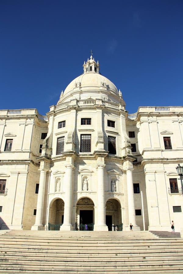 国家万神殿在里斯本,葡萄牙 免版税库存图片