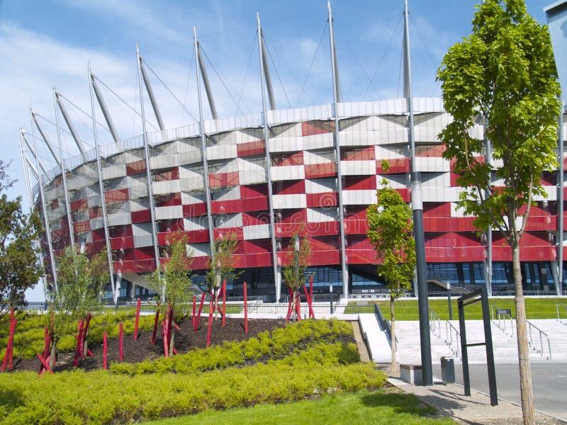 国家体育场,华沙,波兰 图库摄影