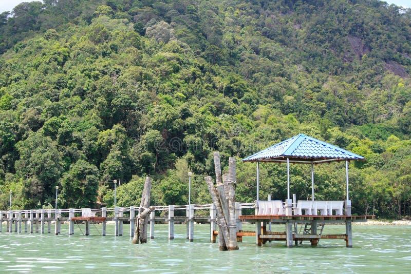 国家公园槟榔岛码头 图库摄影