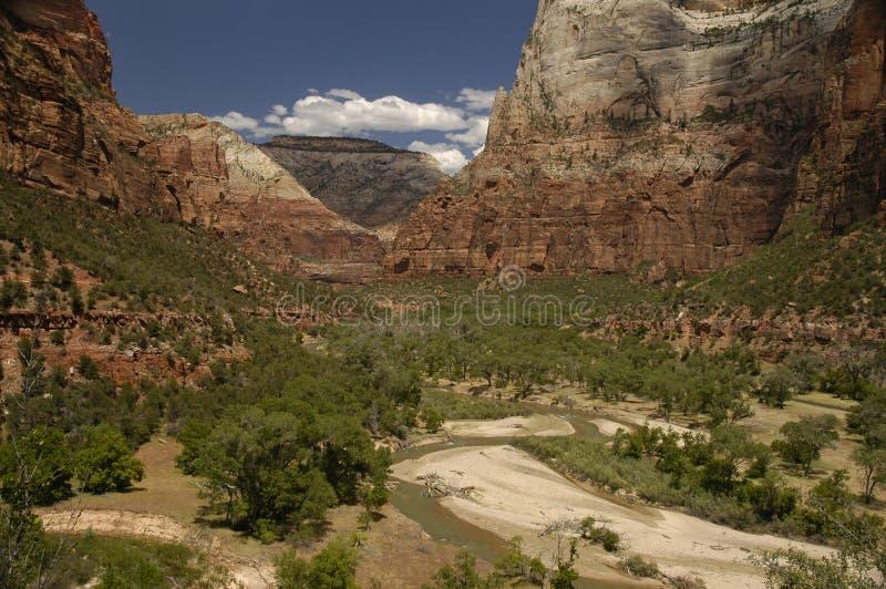 国家公园zion 免版税库存图片