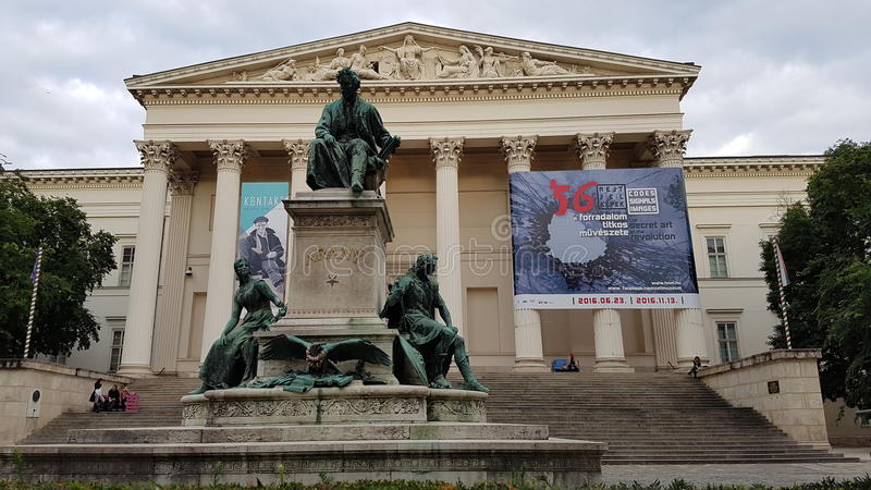 国家博物馆布达佩斯 免版税库存图片
